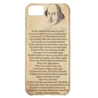 あなたのiPhoneのシェークスピア- Othello、行為V Sc II iPhone5Cケース