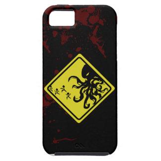 あなたのIphone5のための注意Cthulhu!!! iPhone SE/5/5s ケース