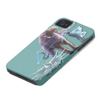 あなたのiPhone 4/4Sのためのレオの(占星術の)十二宮図 Case-Mate iPhone 4 ケース