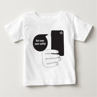 あなたのSelfieを乗り越えて下さい ベビーTシャツ
