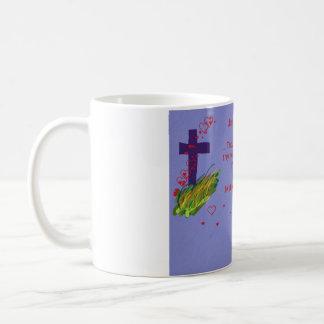 あなたのshalt愛をMatthewのthy隣の22:39襲って下さい コーヒーマグカップ