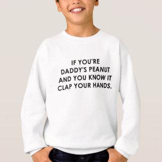 あなたはお父さんのPEANUT.png スウェットシャツ