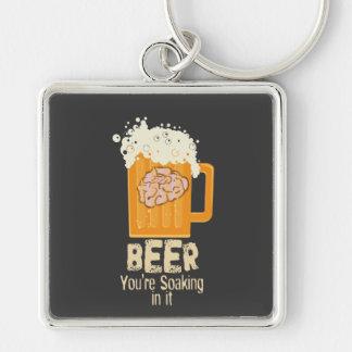 あなたはそれでKeychainを浸すビール キーホルダー
