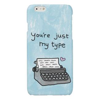 「あなたはちょうど私のタイプ」タイプライター-ハートの場合を愛して下さい