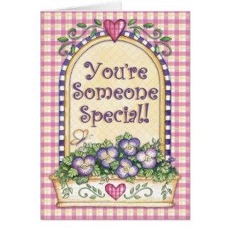 あなたはスペシャル-挨拶状 カード