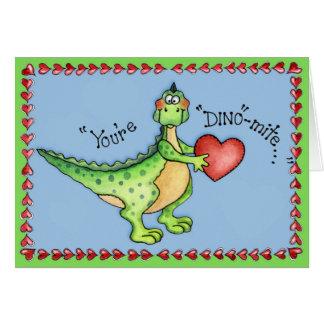 あなたはディーノダニ-挨拶状 カード
