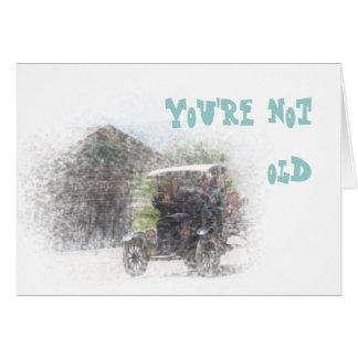 あなたは古くないバースデー・カード カード