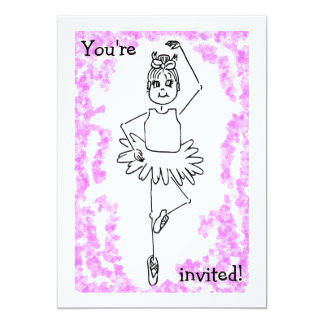 あなたは招待されるバレエ3、! カード