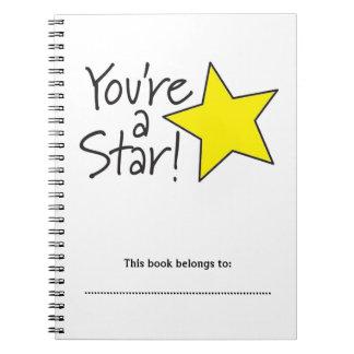 あなたは星のノート ノートブック