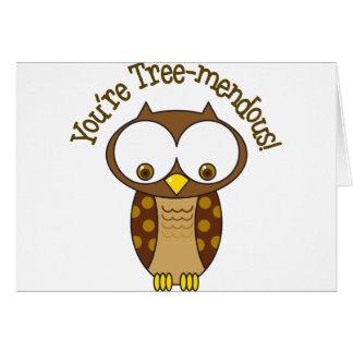 あなたは木Mendous カード