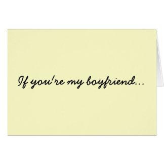 あなたは私のボーイフレンド… カード