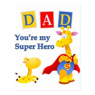 あなたは私の英雄 ポストカード