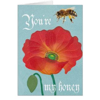 あなたは私の蜂蜜 カード