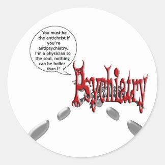 あなたはantipsychiatryキリスト反対者はあるなります ラウンドシール