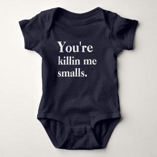 あなたはKillin私小さいサイズ ベビーボディスーツ