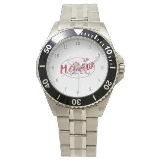 あなたはMemawベストFloral1 腕時計