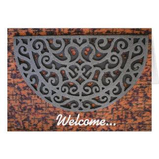 あなたへの歓迎…新しい家 カード
