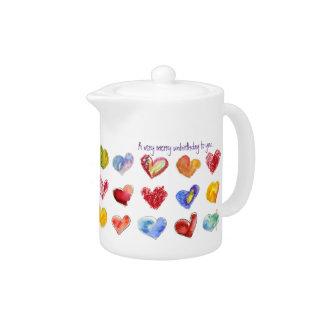 あなたへの非常にメリーなUnBirthday茶ポット