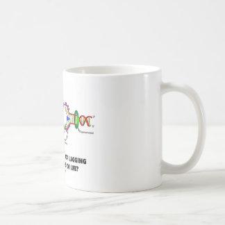 あなた一流または生命の繊維のラギングはですか。 コーヒーマグカップ