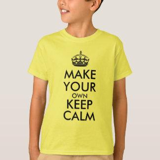 あなた専有物に平静-黒--を保たせます Tシャツ