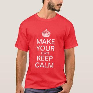 あなた専有物に穏やかなTシャツを保たせます Tシャツ