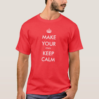 """あなた専有物に""""ワイシャツに平静""""の保たせます Tシャツ"""