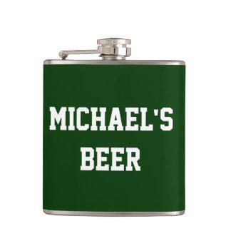 あなた専有物を加えますあなたの一流ビールを作成して下さい フラスク