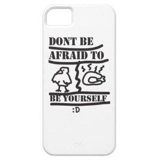 あなた自身があること恐れていないで下さいあないで下さい iPhone SE/5/5s ケース