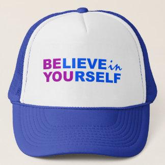 あなた自身で帽子を信じて下さい キャップ