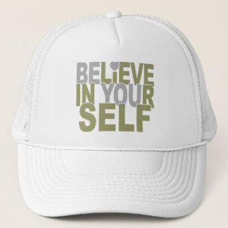 あなた自身で帽子を信じて下さい-色を選んで下さい キャップ
