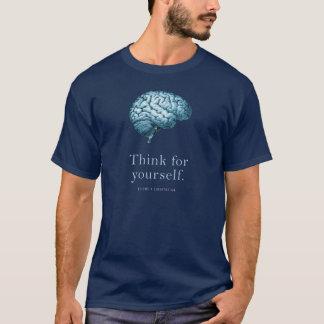あなた自身のためになります自由主義的なTシャツに考えて下さい Tシャツ
