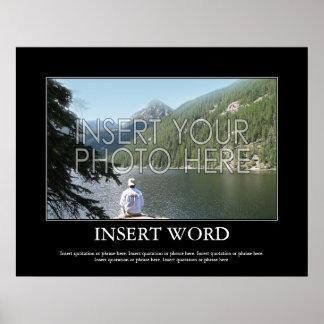 あなた自身のやる気を起こさせるなポスターを作って下さい ポスター