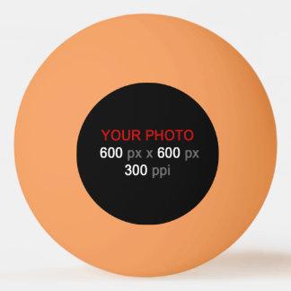 あなた自身のオレンジ3つの星のピンポン球を作成して下さい 卓球ボール