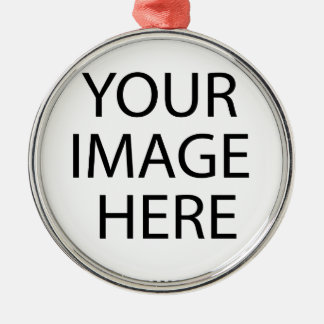 あなた自身のカスタムなプロダクトをあなたのイメージここに作成して下さい メタルオーナメント
