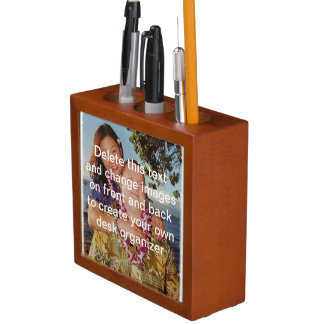 あなた自身のカスタムな机のオルガナイザーを作って下さい ペンスタンド