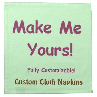 あなた自身のカスタムな綿のテーブルナプキンを設計して下さい ナプキンクロス