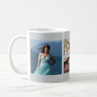 あなた自身のカスタムなInstagramの写真のコラージュを作って下さい コーヒーマグカップ