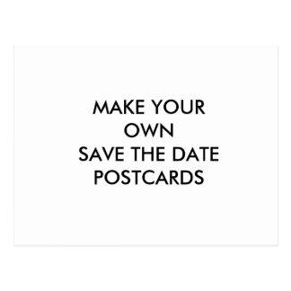 あなた自身のカスタムの保存を日付の郵便はがき作成して下さい ポストカード
