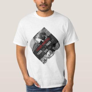 あなた自身のカスタムの対角線を作成して下さい Tシャツ