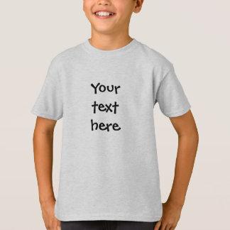 あなた自身のカスタムを作成して下さい Tシャツ