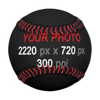 あなた自身のカスタム2の写真の野球を作成して下さい 野球ボール