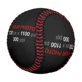 あなた自身のカスタム4の写真の野球を作成して下さい 野球ボール