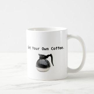 あなた自身のコーヒー・マグを得て下さい コーヒーマグカップ