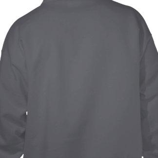 あなた自身のダークグレーを設計して下さい フード付きスウェットシャツ