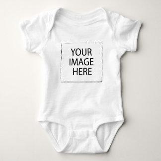 あなた自身のデザイン及び文字を作成して下さい ベビーボディスーツ