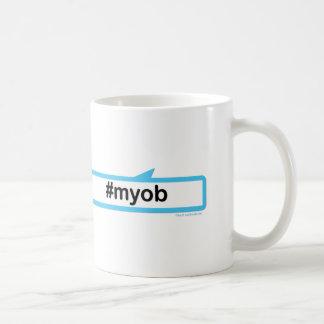 あなた自身のビジネスを気にして下さい コーヒーマグカップ