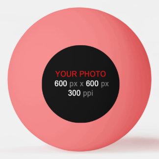 あなた自身のピンクのピンポン球を作成して下さい 卓球ボール