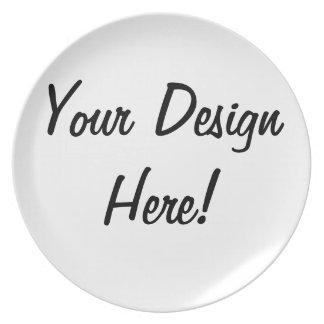 あなた自身のプレートを設計して下さい プレート