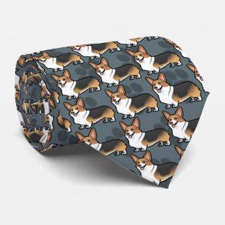 あなた自身のペットを設計して下さい ネクタイ
