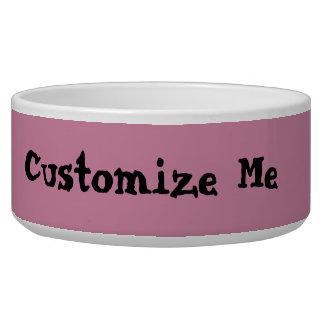 あなた自身のペット皿を作成して下さい